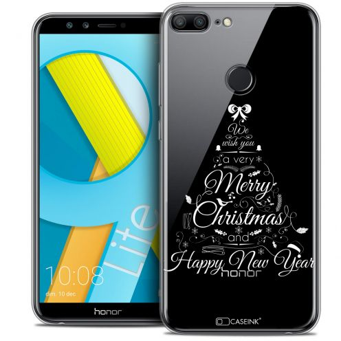 "Coque Crystal Gel Huawei Honor 9 LITE (5.7"") Extra Fine Noël 2017 - Calligraphie"