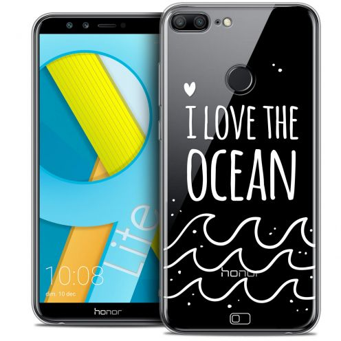 "Coque Crystal Gel Huawei Honor 9 LITE (5.7"") Extra Fine Summer - I Love Ocean"