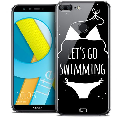 "Coque Crystal Gel Huawei Honor 9 LITE (5.7"") Extra Fine Summer - Let's Go Swim"
