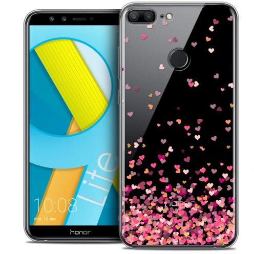 "Coque Crystal Gel Huawei Honor 9 LITE (5.7"") Extra Fine Sweetie - Heart Flakes"
