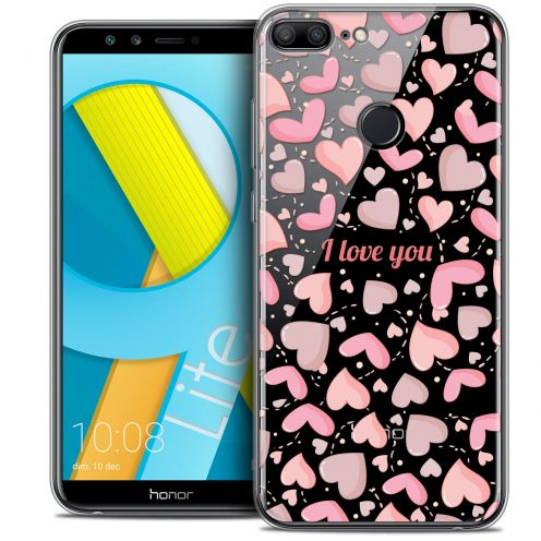 "Coque Crystal Gel Huawei Honor 9 LITE (5.7"") Extra Fine Love - I Love You"