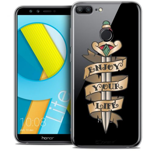"Coque Crystal Gel Huawei Honor 9 LITE (5.7"") Extra Fine Tatoo Lover - Enjoy Life"