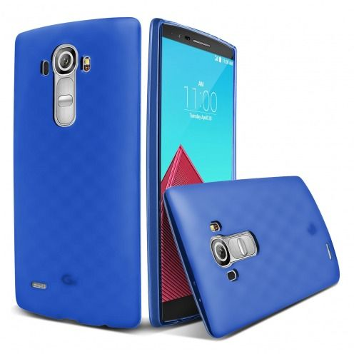Coque LG G4 Frozen Ice Extra Fine Bleu Outremer