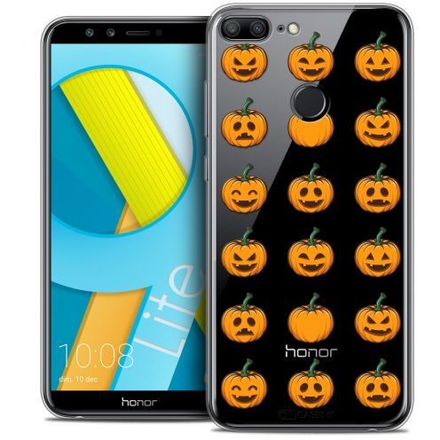 "Coque Crystal Gel Huawei Honor 9 LITE (5.7"") Extra Fine Halloween - Smiley Citrouille"