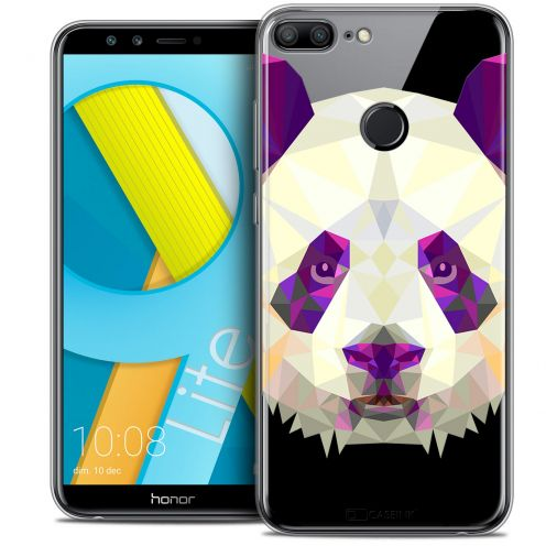 "Coque Crystal Gel Huawei Honor 9 LITE (5.7"") Extra Fine Polygon Animals - Panda"
