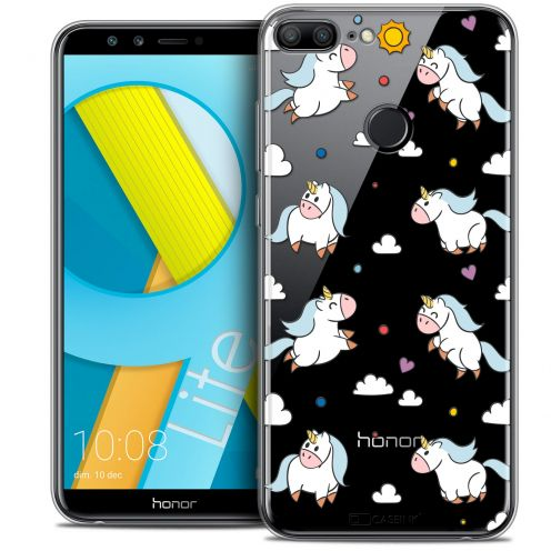 "Coque Crystal Gel Huawei Honor 9 LITE (5.7"") Extra Fine Fantasia - Licorne In the Sky"