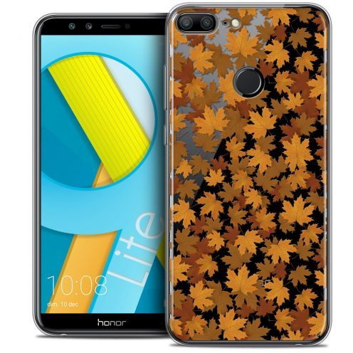 "Coque Crystal Gel Huawei Honor 9 LITE (5.7"") Extra Fine Autumn 16 - Feuilles"