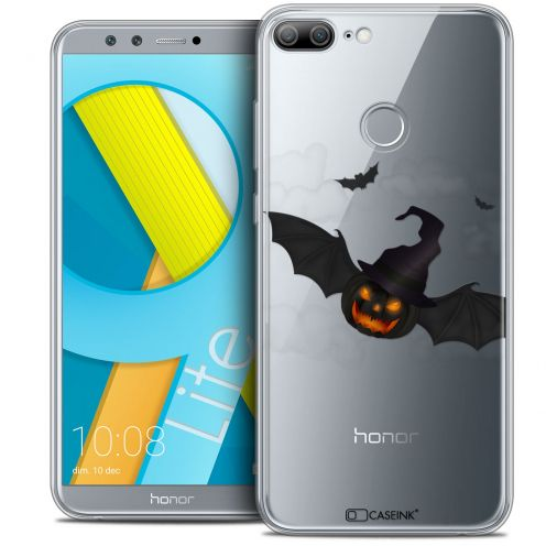 "Coque Crystal Gel Huawei Honor 9 LITE (5.7"") Extra Fine Halloween - Chauve Citrouille"