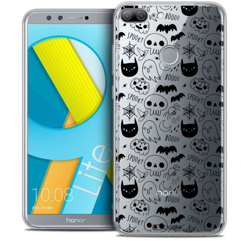 "Coque Crystal Gel Huawei Honor 9 LITE (5.7"") Extra Fine Halloween - Spooky"