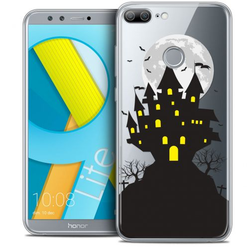 "Coque Crystal Gel Huawei Honor 9 LITE (5.7"") Extra Fine Halloween - Castle Scream"