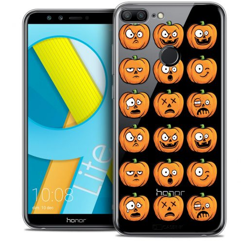 "Coque Crystal Gel Huawei Honor 9 LITE (5.7"") Extra Fine Halloween - Cartoon Citrouille"
