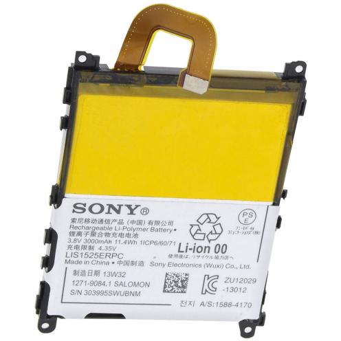 Zoom sur Batterie d'Origine Sony LIS1525ERPC Pour Xperia Z1 L39H (3000 mAh)