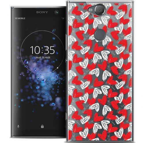 "Coque Crystal Gel Sony Xperia XA2 PLUS (6"") Extra Fine Love - With Love"