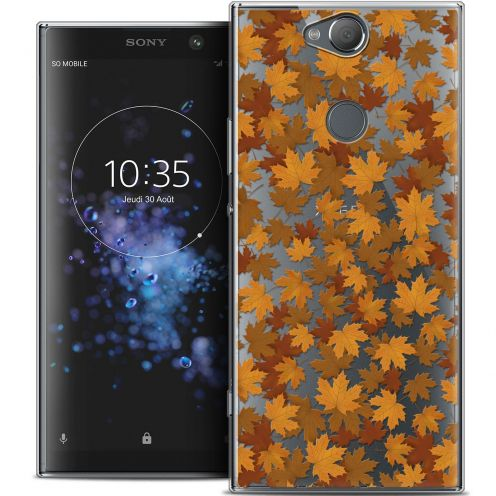 "Coque Crystal Gel Sony Xperia XA2 PLUS (6"") Extra Fine Autumn 16 - Feuilles"
