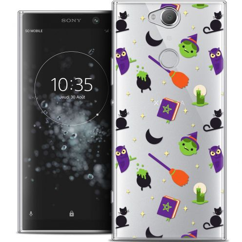 "Coque Crystal Gel Sony Xperia XA2 PLUS (6"") Extra Fine Halloween - Witch Potter"