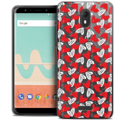 """Coque Crystal Gel Wiko View GO (5.7"""") Extra Fine Love - With Love"""