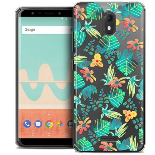 """Coque Crystal Gel Wiko View GO (5.7"""") Extra Fine Spring - Tropical"""