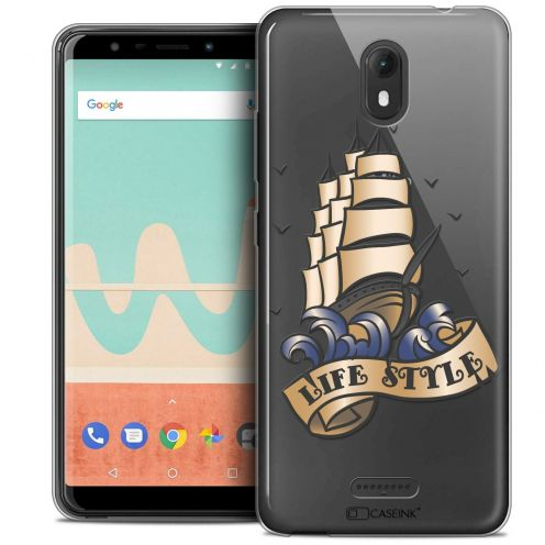 """Coque Crystal Gel Wiko View GO (5.7"""") Extra Fine Tatoo Lover - Life Style"""