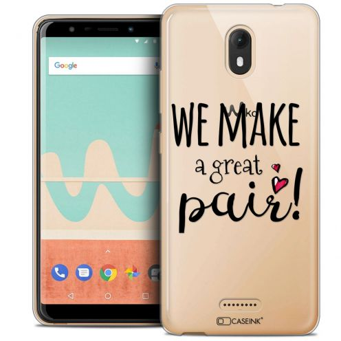 """Coque Crystal Gel Wiko View GO (5.7"""") Extra Fine Love - We Make Great Pair"""