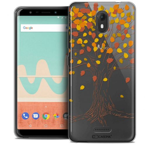 """Coque Crystal Gel Wiko View GO (5.7"""") Extra Fine Autumn 16 - Tree"""