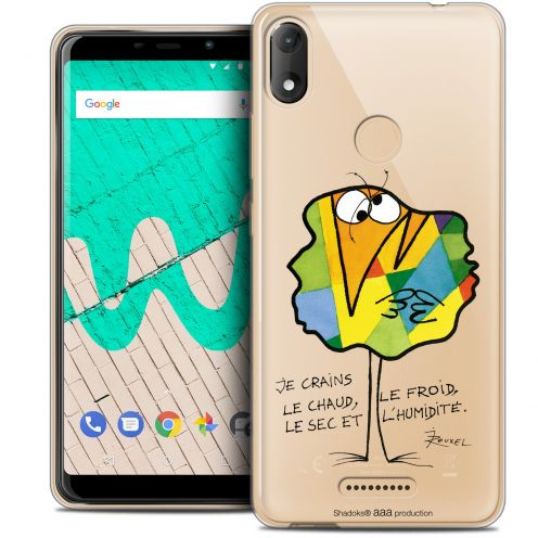 """Coque Gel Wiko View MAX (5.7"""") Extra Fine Les Shadoks® - Chaud ou Froid"""