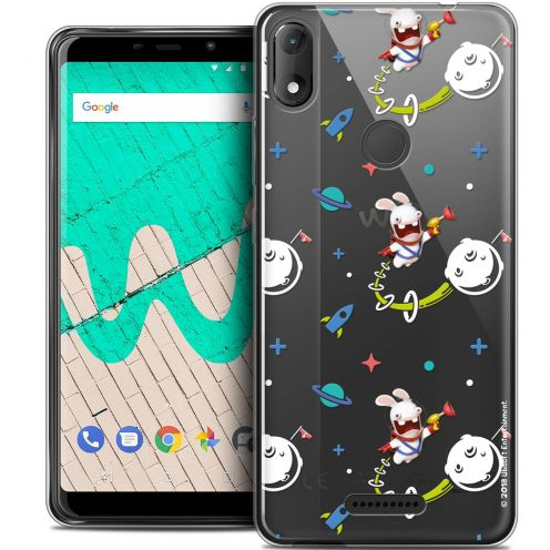 """Coque Gel Wiko View MAX (5.7"""") Extra Fine Lapins Crétins™ - Space 2"""