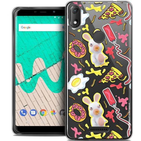 """Coque Gel Wiko View MAX (5.7"""") Extra Fine Lapins Crétins™ - Egg Pattern"""