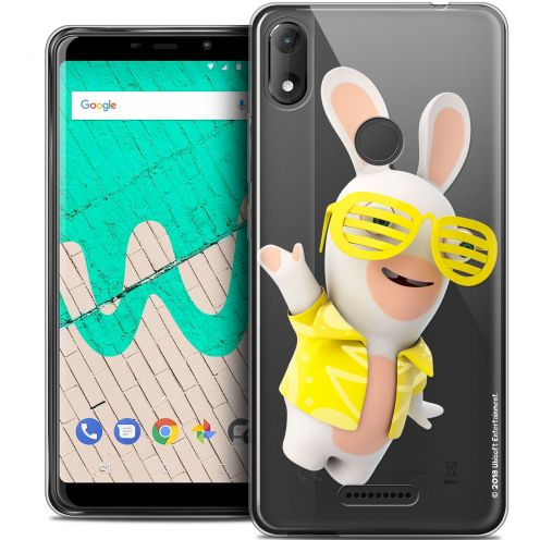 """Coque Gel Wiko View MAX (5.7"""") Extra Fine Lapins Crétins™ - Sun Glassss!"""
