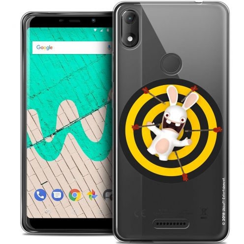 """Coque Gel Wiko View MAX (5.7"""") Extra Fine Lapins Crétins™ - Target"""