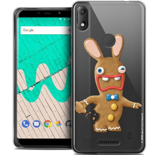 """Coque Gel Wiko View MAX (5.7"""") Extra Fine Lapins Crétins™ - Cookie"""