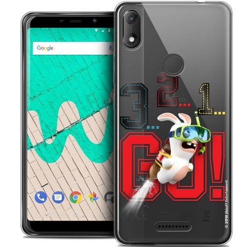 """Coque Gel Wiko View MAX (5.7"""") Extra Fine Lapins Crétins™ - 321 Go !"""