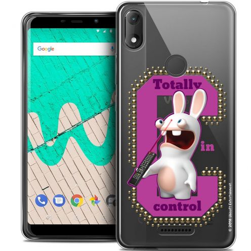 """Coque Gel Wiko View MAX (5.7"""") Extra Fine Lapins Crétins™ - In Control !"""