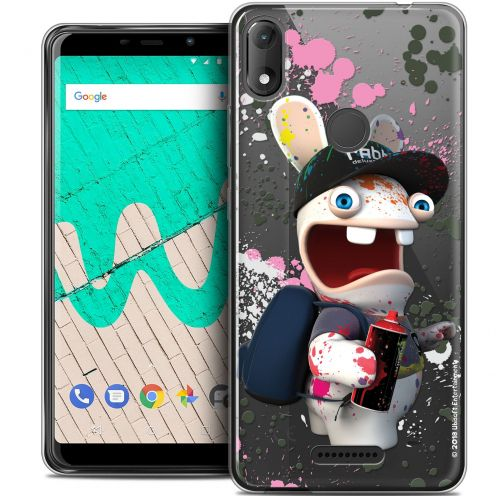 """Coque Gel Wiko View MAX (5.7"""") Extra Fine Lapins Crétins™ - Painter"""