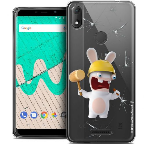"""Coque Gel Wiko View MAX (5.7"""") Extra Fine Lapins Crétins™ - Breaker"""