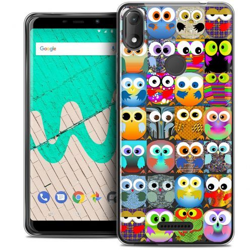 """Coque Crystal Gel Wiko View MAX (5.7"""") Extra Fine Claude - Hibous"""