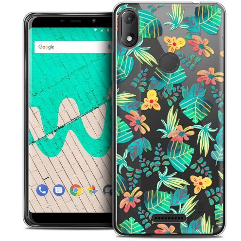 """Coque Crystal Gel Wiko View MAX (5.7"""") Extra Fine Spring - Tropical"""