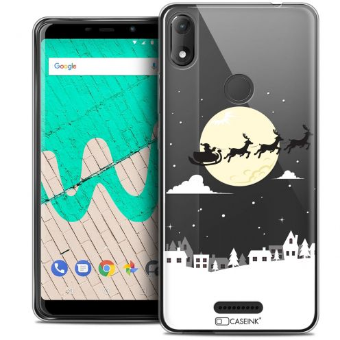 """Coque Crystal Gel Wiko View MAX (5.7"""") Extra Fine Noël 2017 - Flying Stanta"""