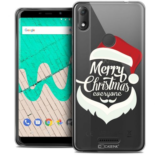 """Coque Crystal Gel Wiko View MAX (5.7"""") Extra Fine Noël 2017 - Merry Everyone"""