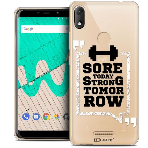 """Coque Crystal Gel Wiko View MAX (5.7"""") Extra Fine Quote - Strong Tomorrow"""