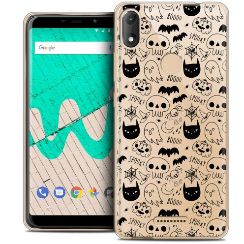 """Coque Crystal Gel Wiko View MAX (5.7"""") Extra Fine Halloween - Spooky"""