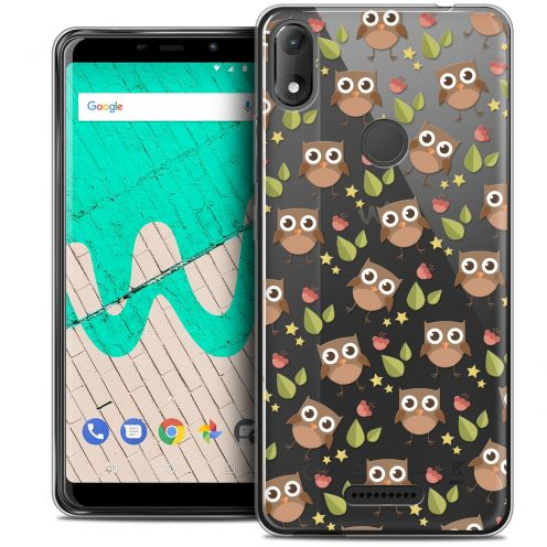 """Coque Crystal Gel Wiko View MAX (5.7"""") Extra Fine Summer - Hibou"""