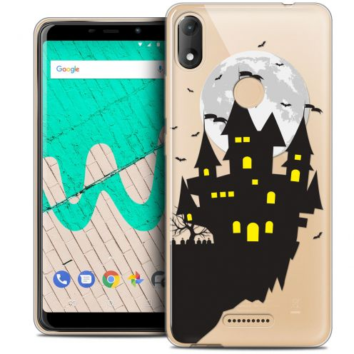 """Coque Crystal Gel Wiko View MAX (5.7"""") Extra Fine Halloween - Castle Dream"""