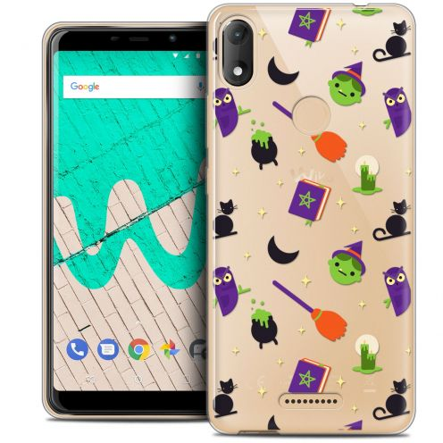 """Coque Crystal Gel Wiko View MAX (5.7"""") Extra Fine Halloween - Witch Potter"""