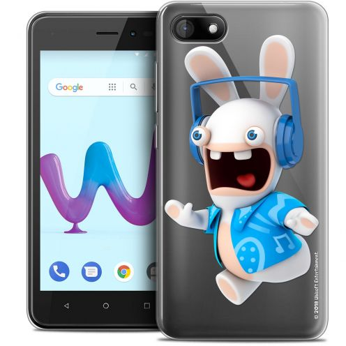 """Coque Gel Wiko Sunny 3 (5"""") Extra Fine Lapins Crétins™ - Techno Lapin"""