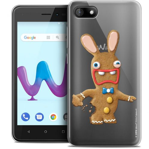 """Coque Gel Wiko Sunny 3 (5"""") Extra Fine Lapins Crétins™ - Cookie"""