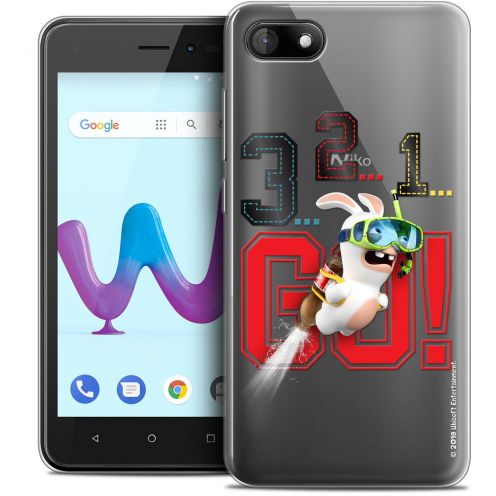 """Coque Gel Wiko Sunny 3 (5"""") Extra Fine Lapins Crétins™ - 321 Go !"""