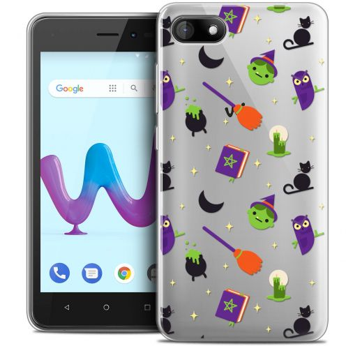 """Coque Crystal Gel Wiko Sunny 3 (5"""") Extra Fine Halloween - Witch Potter"""