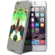 Vue complémentaire de Coque Crystal iPhone 6 Extra Fine Polygon Animals - Raton Laveur
