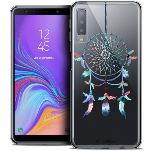 "Coque Crystal Gel Samsung Galaxy A7 (2018) A750 (6"") Extra Fine Dreamy - Attrape Rêves Rainbow"