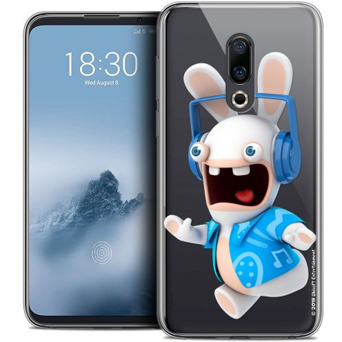 """Coque Gel Meizu 16 (6"""") Extra Fine Lapins Crétins™ - Techno Lapin"""